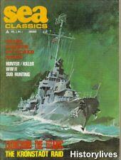Sea Classics Magazine V3 N1 Titanic CMB Scooters Kronstadt Climb Mount Nitaka