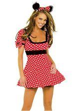 Sexy Women Lingeries Minnie Mouse Fancy Dress Costume