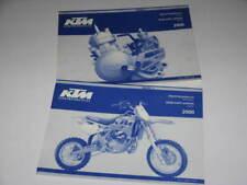 2 PARTS LIST CATALOGUE TECHNIQUE KTM 60 / 65 SX 2000 -