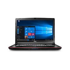 MSI GP72 Core i5-6300 - 16 GB - Windows 10 - 17,3 - GTX 960 - 256GB SSD + 1000GB