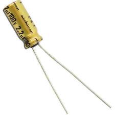 200 Nichicon USA1C220MCA 22uF 16V 20/% 85C Radial Electrolytic Capacitors 5x7mm