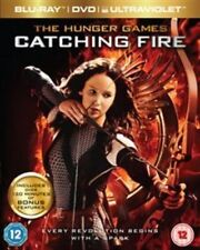 The Hunger Games - Catching Fire (Blu-ray and DVD +UV) Jennifer Lawrence