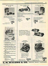 1957 ADVERT Toy Dick Tracy Wrist Radio 2 Way US Marines Walkie Talkies Station