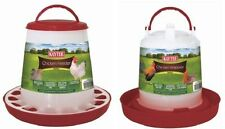 Kaytee Chicken Feeder Medium up to 5lb Capacity Colors Vary ( USA