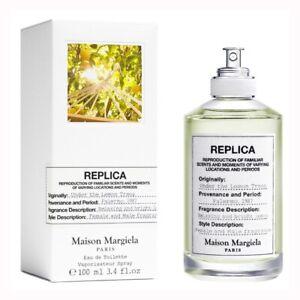 REPLICA UNDER THE LEMON TREES Maison Margiela 3.4oz (100ml) EDT Spray NEW&SEALED