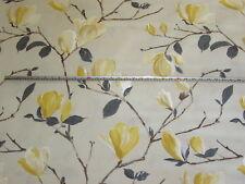'Sayuri' Mimosa, Prestigious Textiles Living 100% Cotton Floral Fabric, 2.5 mts