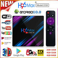 H96 Max Pro TV BOX Android 9.0 2/4G+16/32/64G USB3.0 WiFi 4K Smart Media Player