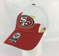 San Francisco 49ers hat cap 47 Brand solo OSFA black red gold stretch fit new