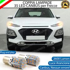 COPPIA LAMPADE PY21W BAU15S CANBUS 35 LED HYUNDAI KONA FRECCE ANTERIORI NO ERROR