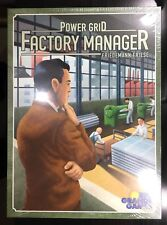 Power Grid: Factory Manager Board Game by Rio Grande Games (BRAND NEW, SEALED)