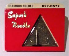 NEW DIAMOND NEEDLE STYLUS 897-DS77 DUAL NEEDLE ZENITH  68566, 68567