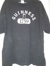 GUINNESS Beer OFFICIAL BREWERY T SHIRT SIZE XL BEER IRELAND