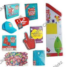 Coles Little Shop - Red Hand Trolley Basket Apron Shop front Cap Shirt Full Set