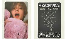 Official Taeyong Arrival Ver Photocard NCT 2020 Resonance Pt.2 Album departure