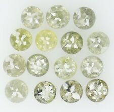 Natural Loose Diamond Round  I2 Clarity Grey Greenish Color 15 Pcs 1.20 ct KR239