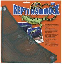 Zoo Med ReptiHammock 17.5 in Length Large Rest Climb Play On Reptile Hammock