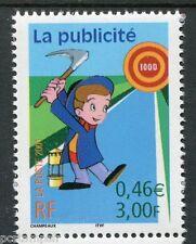 FRANCE 2001, timbre 3373 Communication Publicité neuf**