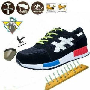 Scarpe Antinfortunistica da lavoro Uomo Donna Traspirante Sneakers Molto Leggero