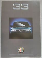 1990 Alfa Romeo 33 foldout Brochure