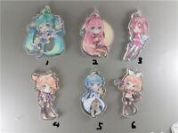 Japan Anime Hatsune Miku vocaloid2 Acrylic Keychain Key Ring Strap Charm Pedant