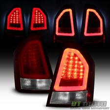 2008-2010 Chrysler 300C Lumileds Red Clear LED Pyro Tube Tail Lights Brake Lamps