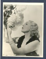 MARY PICKFORD - GLAMOROUS BLONDE BY HURRELL - NEAR MINT LINEN-BACKED SILENT