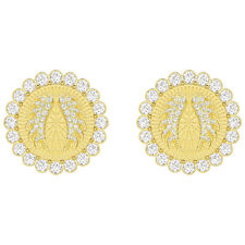 Lucky Goddess Clip-on Earrings White Gold Plate 2019 Swarovski Jewelry 5464120