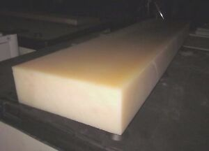"Square Foot Priced 1/"" Blue Nylon MC 901 Plastic Sheet Cut to Size!"