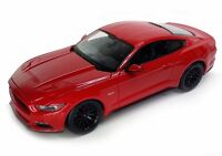 Maisto 1:18 2015 Ford Mustang GT Diecast Model Sports Racing Car Vehicle Red