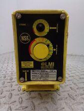 LMI MILTON ROY A151-92S ELECTROMAGNETIC DOSING PUMP