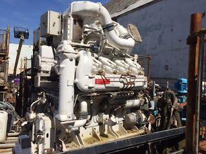 ROYAL NAVY Marine Diesel Engine PAXMAN 8YJCM 1000 BHP - Craft : Spitfire Class