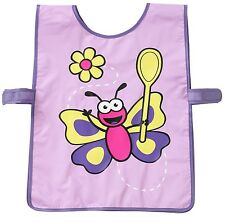 Bugzz Kids Butterfly Spoon Tabard Childrens Childs Girls Painting Cooking Apron