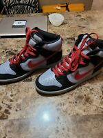 Nike Dunk High Stealth Deep Red/ Black 304717 061 Mens 12 US