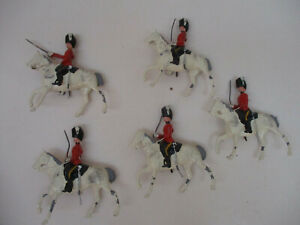 Wm Britains Cavalry Charge Toy Soldier Lot Sword 60mm Metal