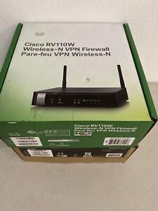 Cisco RV110W-A-CA-K9 Small Business RV110W Wireless N VPN Firewall Router
