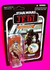 REBEL COMMANO Vintage Collection ROTJ STAR WARS Action Figure Boba Fett Sticker!