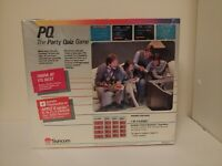 Vintage VTG PQ : The Party Quiz Game For Apple II IIc IIe FRANKLIN *NEW Sealed