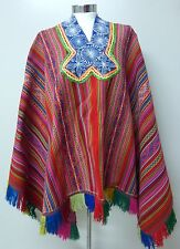Peruvian Andean Textile Aguayo Poncho