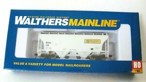 Walthers Mainline Ltd Edition 39'Trinity Cov/Hopper#910-7527 BCAX/BlueCircle NIB