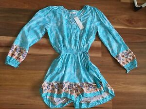 SZ 12 M LILY WHITE PLAYSUIT NWT *BUY FIVE OR MORE ITEMS GET FREE POST