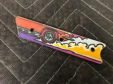 Bally Corvette Pinball Machine Left Inlane Playfield Plastic NOS FREE SHIP