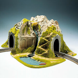 05170 Noch Ho Diorama With Tunnel IN Curve R1/2 1 Track