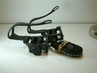 Wellgo Pedals with Christophe Toe Clips and Straps 9/16 Thread From a Raleigh