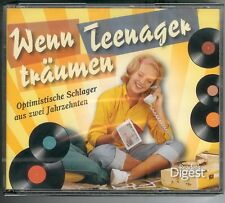 Wenn Teenager träumen - 5-CD Set Readers Digest 2013 NEU & OVP - 123 Musiktitel