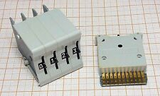 Rotary switch - gold plated contacts - TS212 [M1-TS]