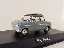 NSU PRINZ II 1959 gris, échelle 1/43 NOREV 831014 Limousine Motorenwerke AG