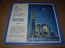 "NATIONAL SHRINE CHURCH bells at christmas - 7"" / 45 picture sleeve - SEALED NEW"