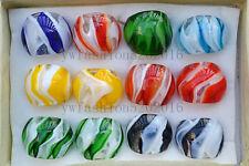 Wholesale Lots 6Pcs Colorful Summer Murano Glass Lampwork Rings 17-19MM Free