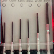 11 Pcs Small Precision Screwdriver Repair Kit Cross Flat Slot Slotted Head Set^