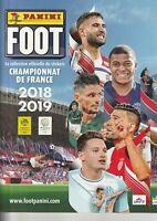 NICE - STICKERS IMAGE VIGNETTE - PANINI - FOOT 2018 / 2019 - a choisir